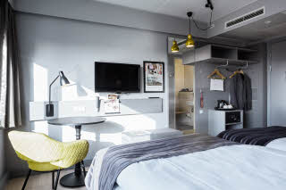Superior room, Scandic Olympic