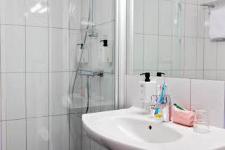 Scandic Sodertalje, bathroom