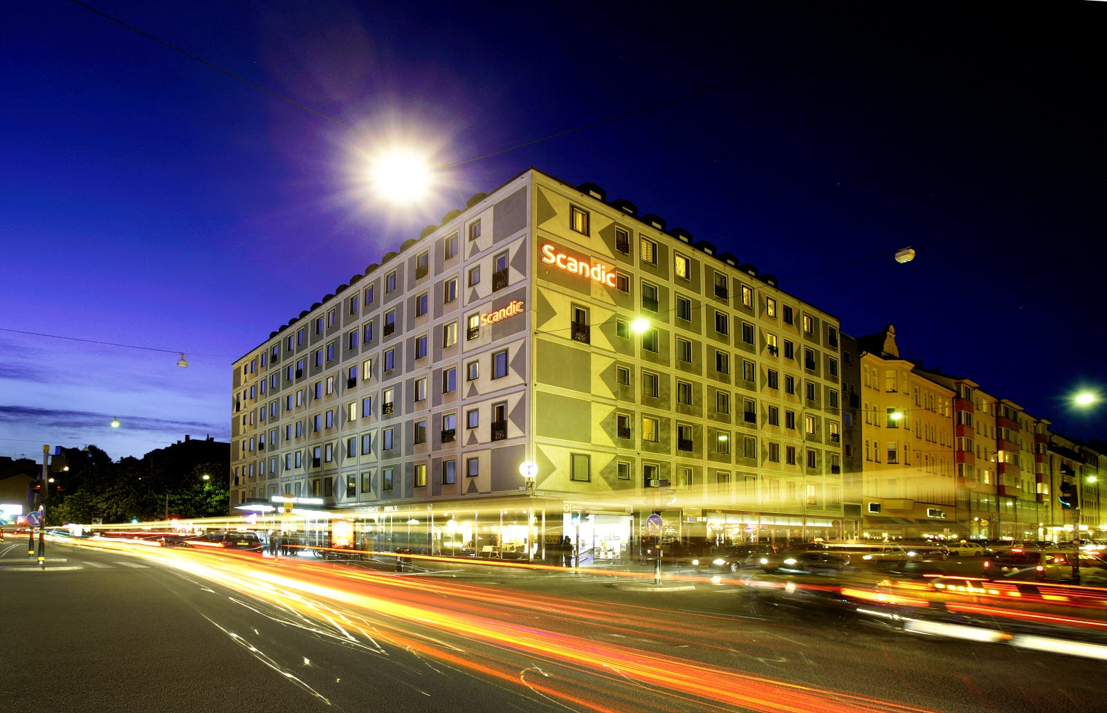 Exterior Facade Hotels In Stockholm