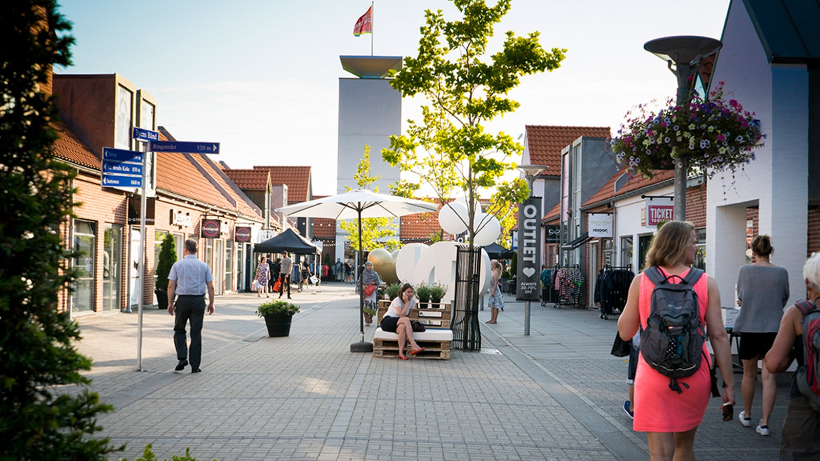 Outlet, Ringsted