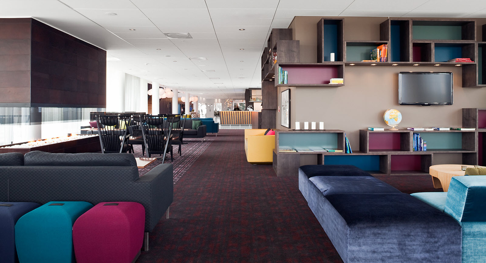 Scandic Oslo Airport, lounge