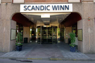 Scandic Winn, Entrance, Exterior