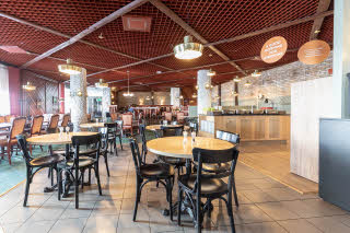 Restaurant at Scandic Oulu Station in finland