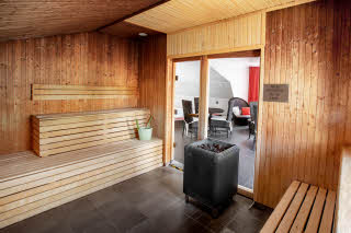 sauna facility at scandic stora hotellet in nykoping in sweden
