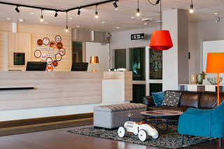 Scandic Klaralven, reception, lobby