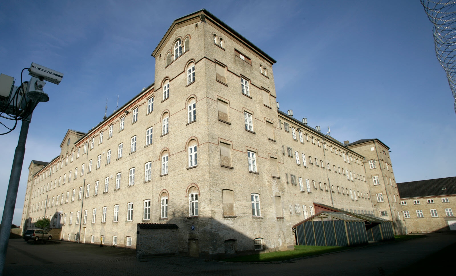 The prison in Horsens today holds a museum