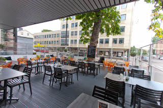 Scandic Karlstad City, terrace, outdoors