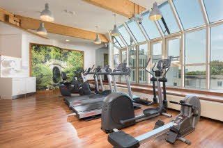 Gym of Scandic Berlin Kurfürstendamm hotel