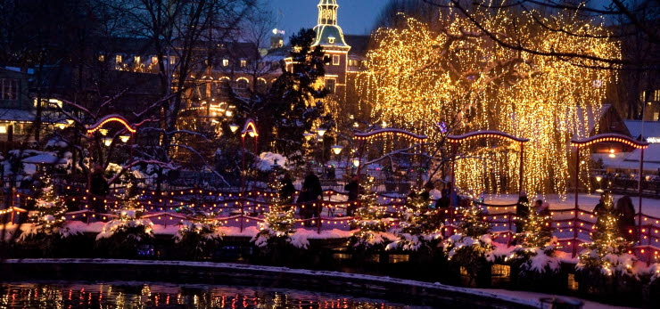 Christmas at Tivoli | Photo: VisitDenmark | Scandic Hotels