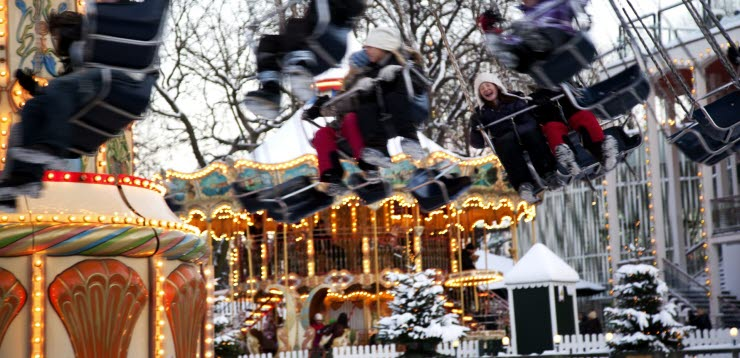 Christmas at Tivoli | Photo: VisitDenmark, Kim Wyon | Scandic Hotels