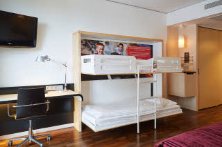 room standard family four at scandic berlin potsdamer platz in germany