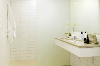Scandic Opalen, superior bathroom