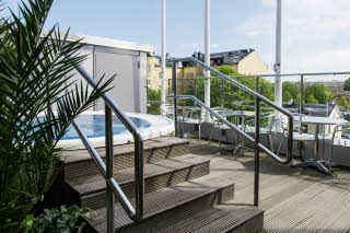 Scandic Norrköping City, terrace, jacuzzi