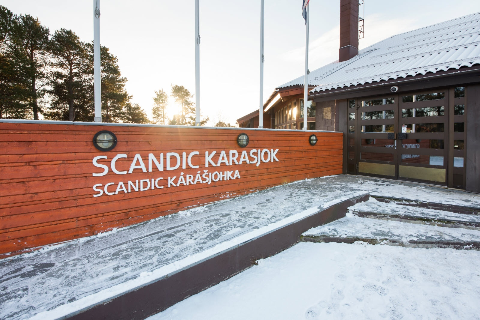 Scandic Karasjok, Karasjok, entrance