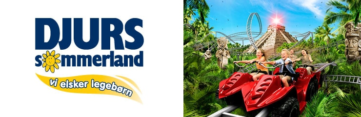 Discounts for Djurs Sommerland through Scandic Hotels