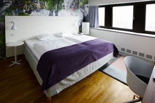 Scandic Copenhagen, suite bedroom