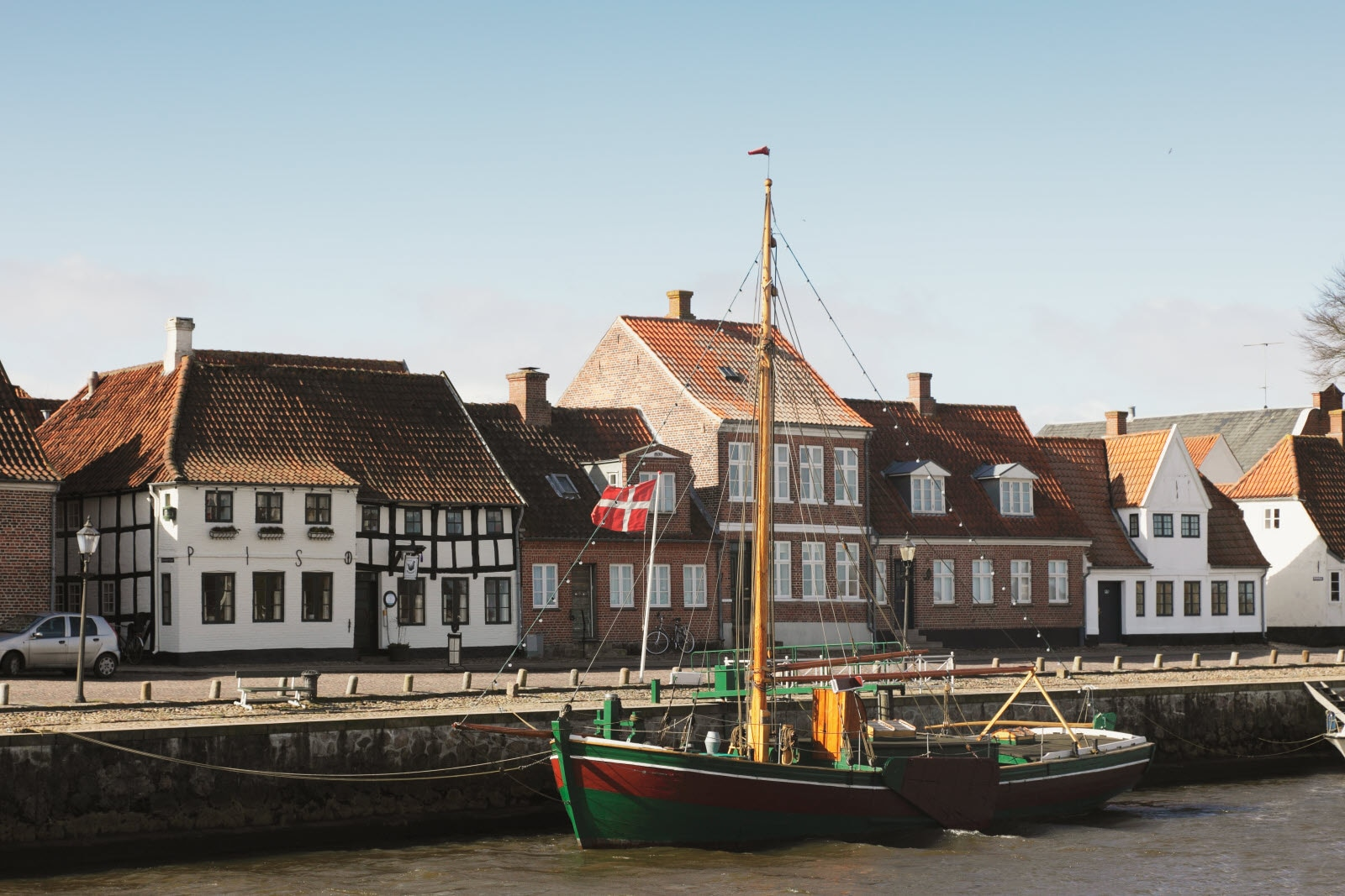 Old town in Esbjerg