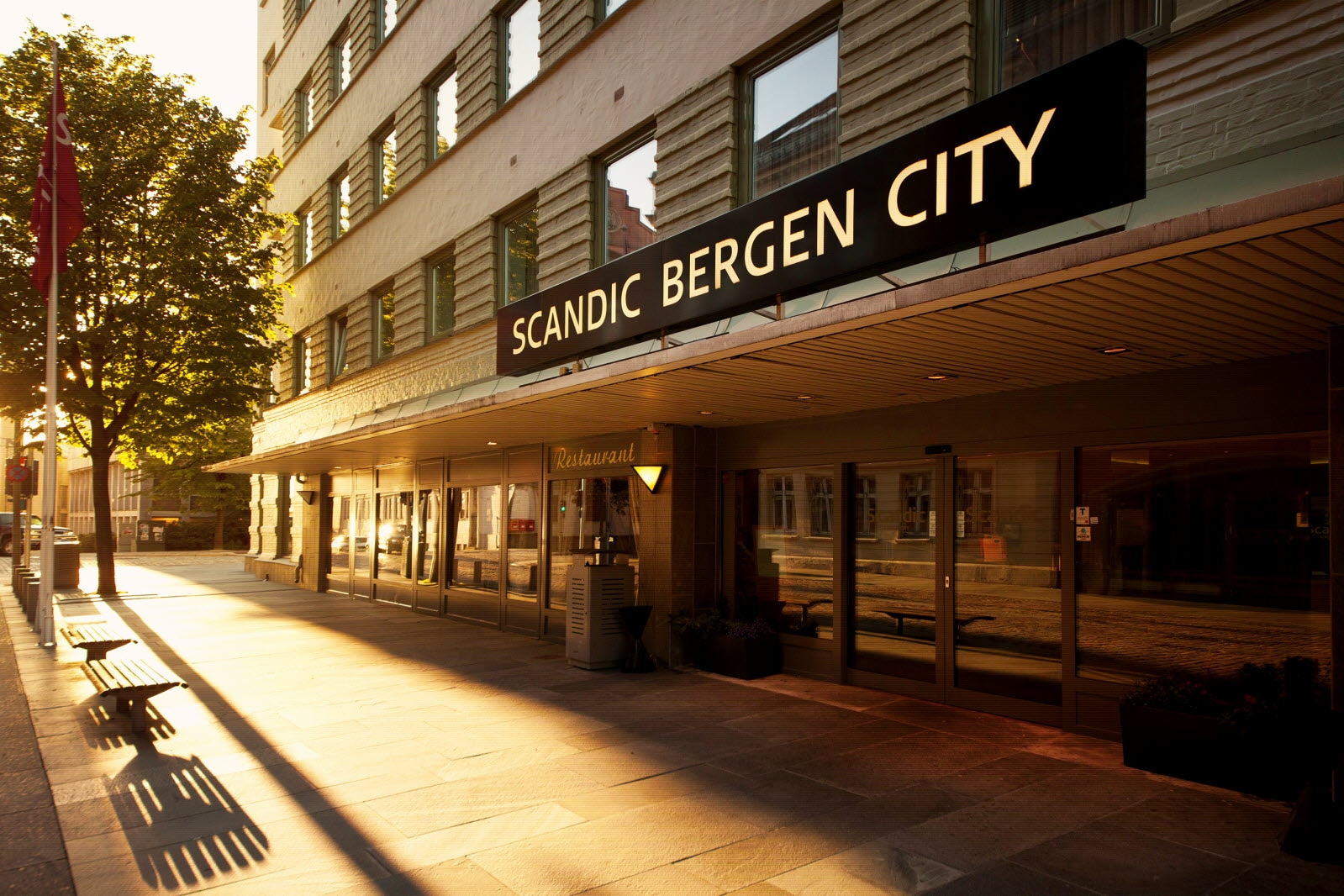 Scandic Bergen City, exterior