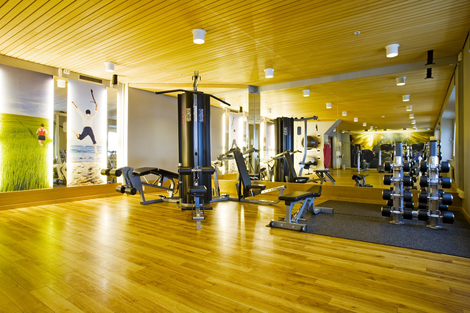 Scandic Infra City, gym