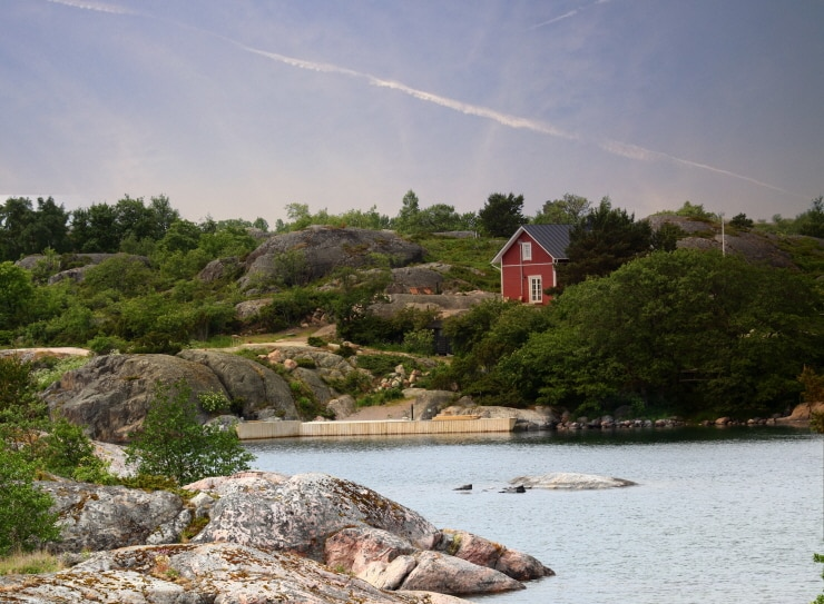 An old fisherman's cottage in the Turku archipelago