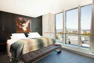 Scandic Ornen, penthouse suite