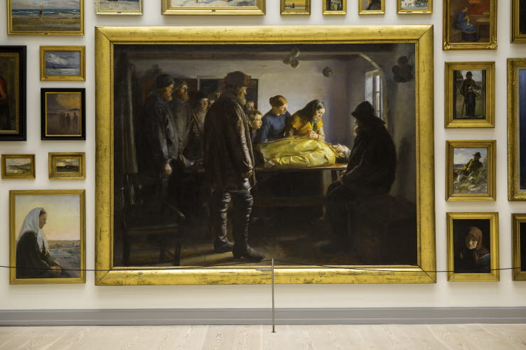 Michael Ancher, The Drowned Fisherman - Photo Skagen's art museums