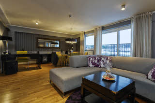 Scandic Ringsaker, Hamar, penthouse suite, living room
