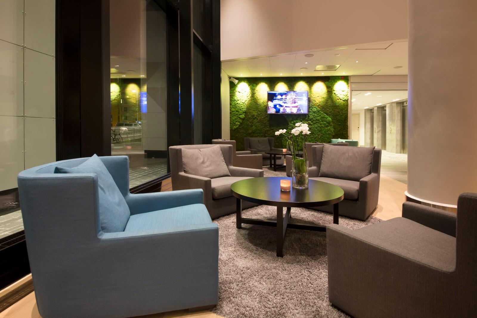 Hotel lobby furniture -  Exteriro Scandic Lerkendal Lobby Furniture