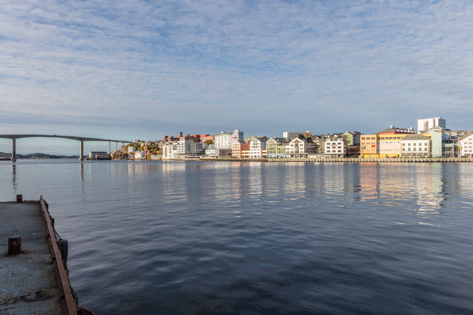 Kristiansund city view