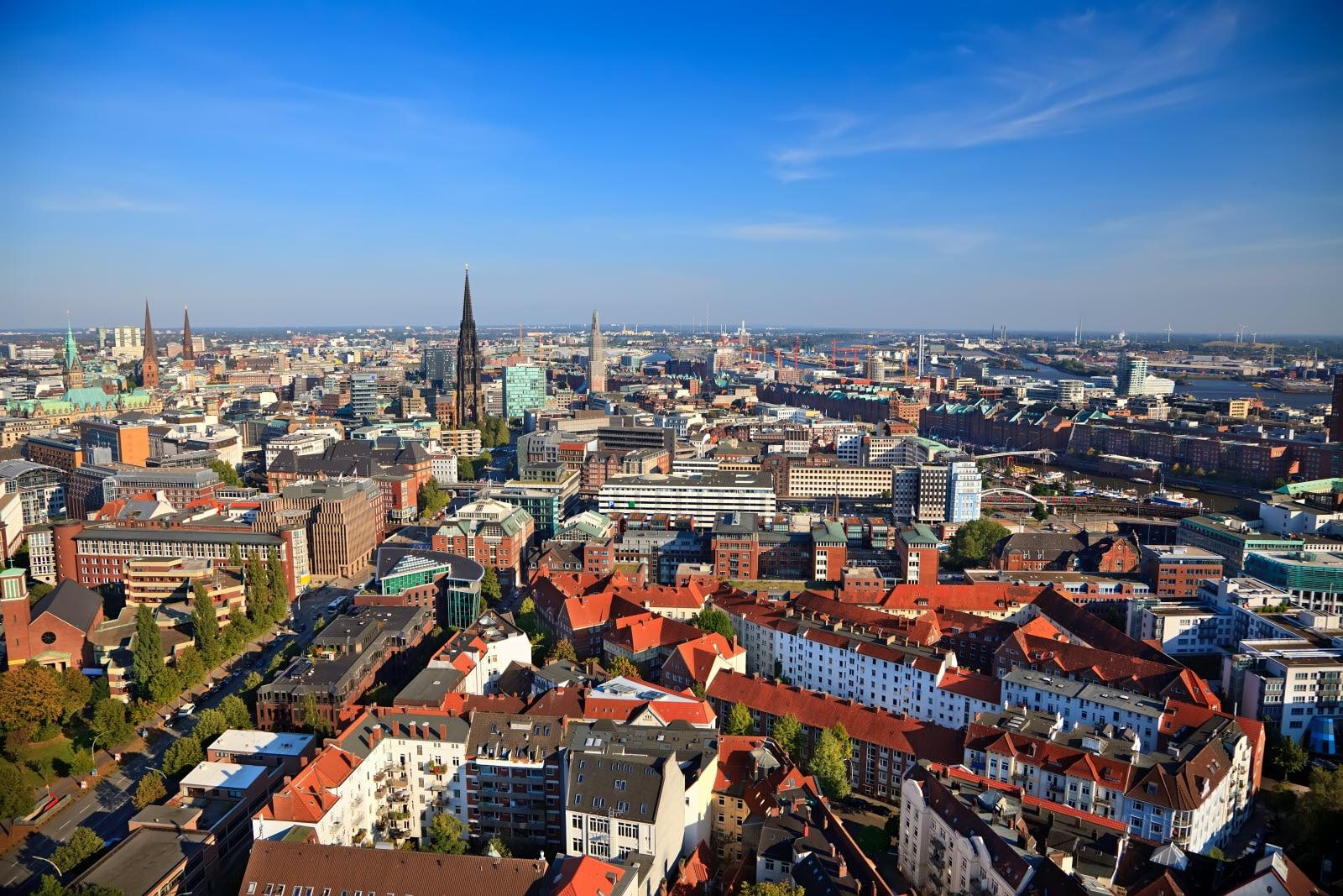 Hamburg Leipzig Sky