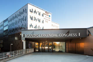 Scandic Lerkendal, facade, sign, exterior, entrance, congress