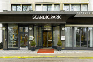 Scandic Park entrence