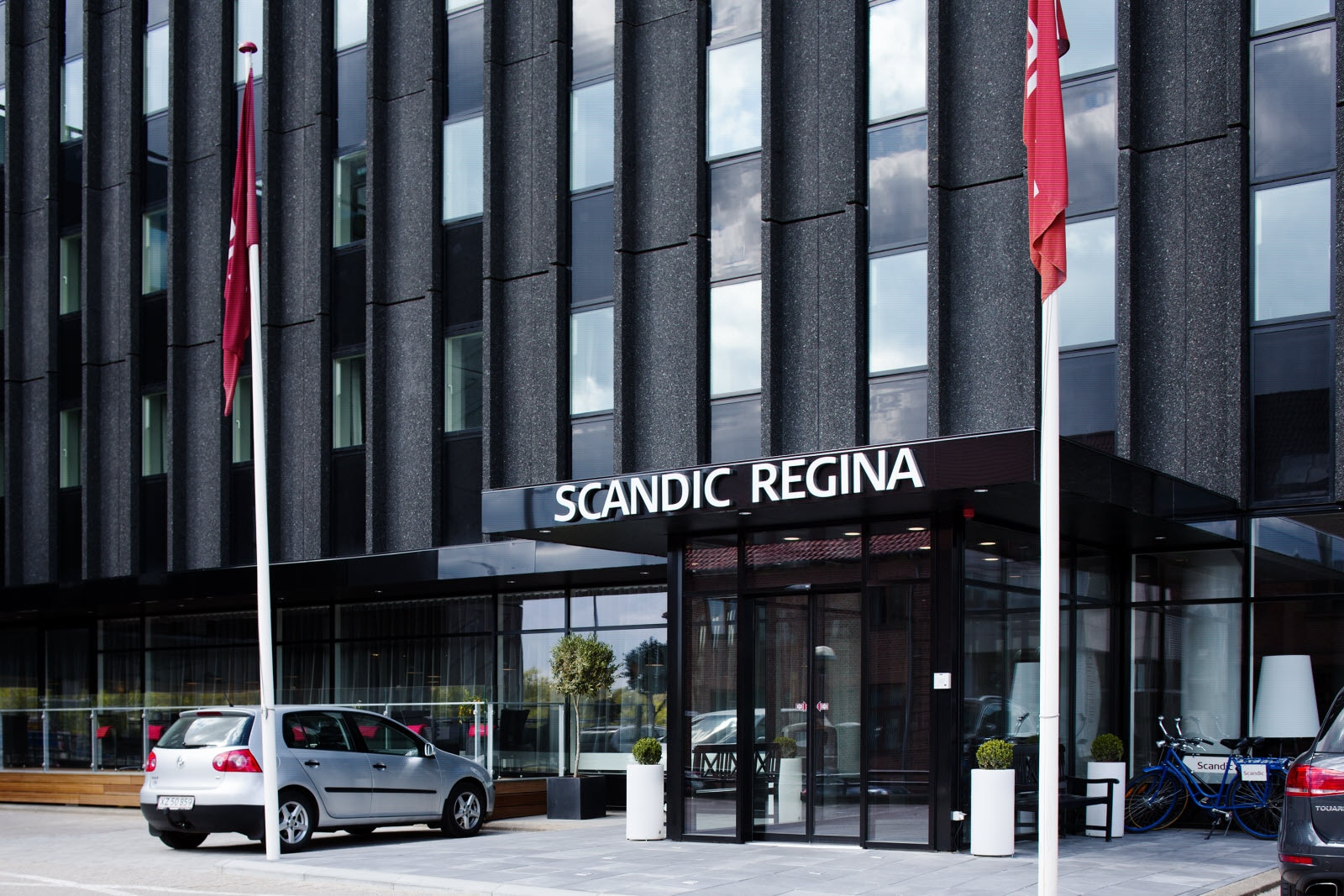 Scandic Regina, exterior, entrance