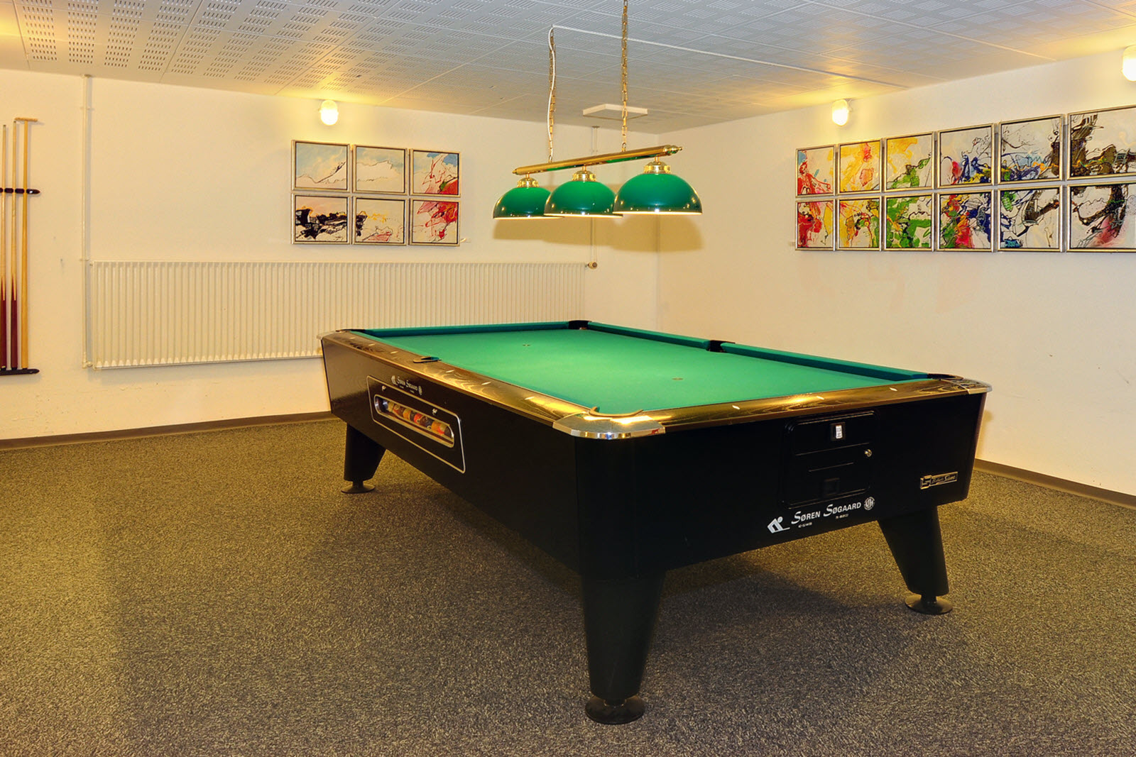 Scandic Sonderborg, activity room, pool table