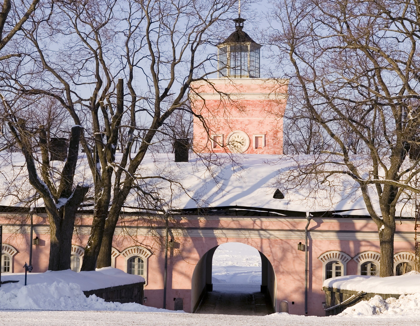 Suomenlinna in winter. Copyright Comma Image Oy, City of Helsinki