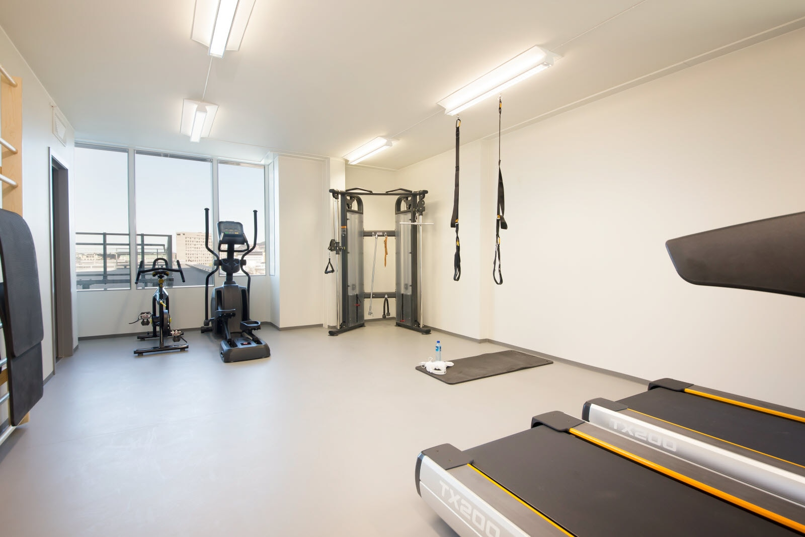 Scandic Ornen, gym, workout, fitness room