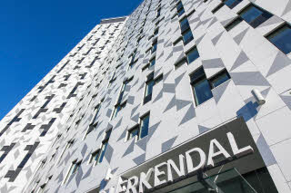 Scandic Lerkendal, facade, sign, exterior, entrance