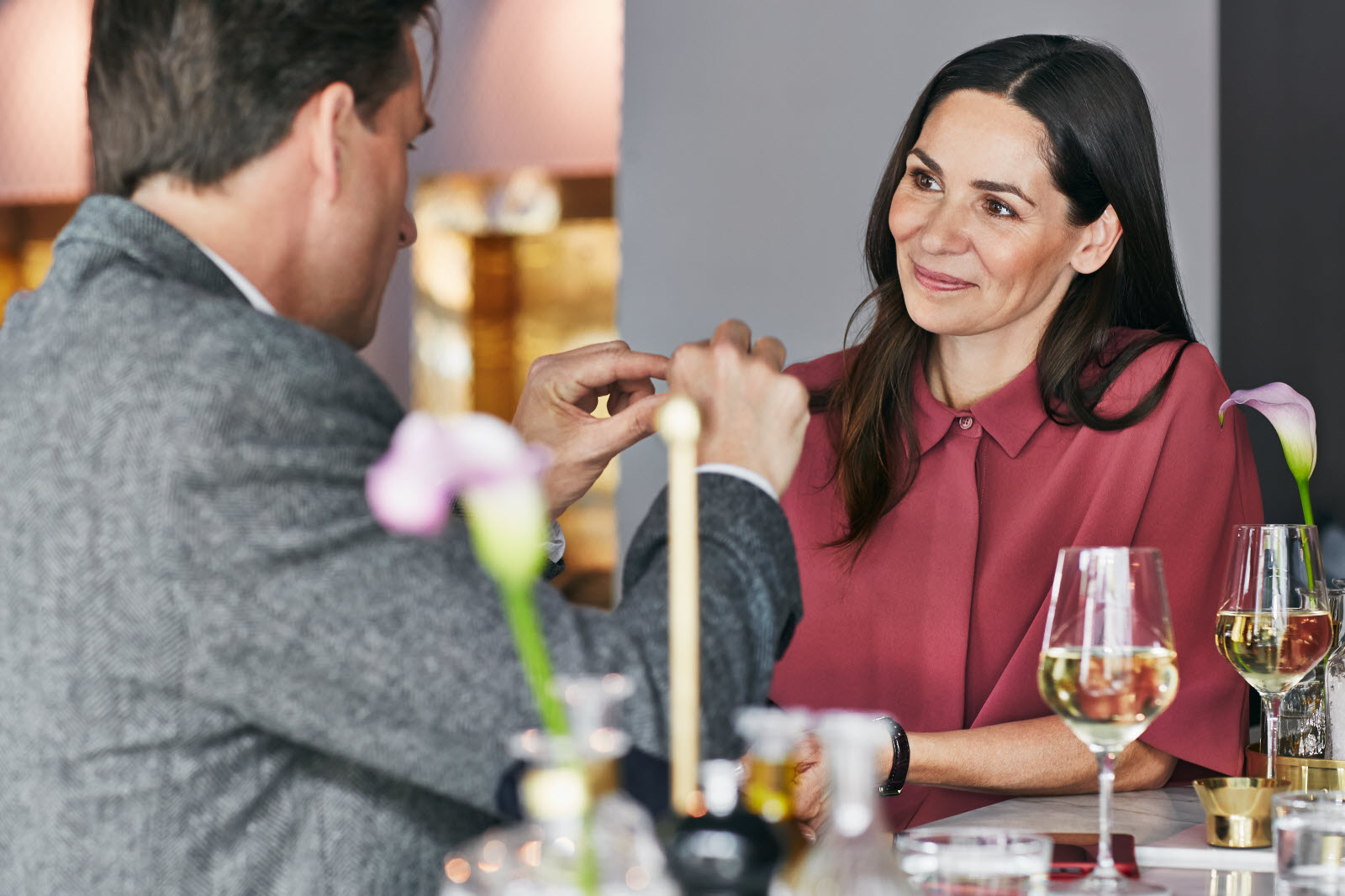 ccc, spring 2014, Rubinen, bar, restaurant, couple, romantic, after work, socialising, wine